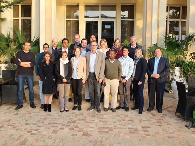 SIA Working Group Meeting 2017 in Morocco